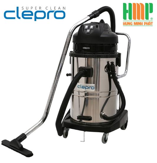 máy hút bụi khô và nước công nghiệp clepro model: s3/80 3